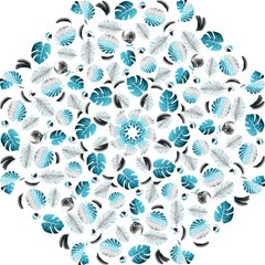 Tropical pattern Folding Umbrellas