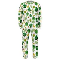 Tropical pattern OnePiece Jumpsuit (Men)