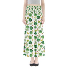 Tropical pattern Maxi Skirts