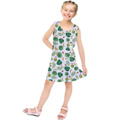 Tropical pattern Kids  Tunic Dress