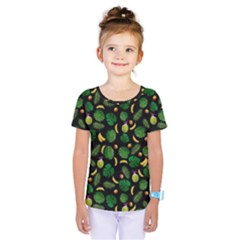 Tropical pattern Kids  One Piece Tee