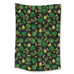 Tropical pattern Large Tapestry