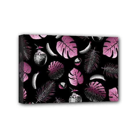 Tropical pattern Mini Canvas 6  x 4