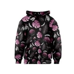 Tropical pattern Kids  Pullover Hoodie