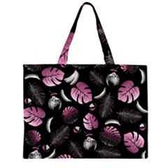 Tropical pattern Large Tote Bag
