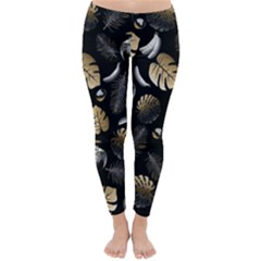 Tropical pattern Classic Winter Leggings