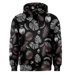 Tropical pattern Men s Pullover Hoodie