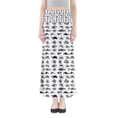 Fish pattern Maxi Skirts