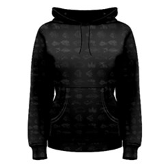 Fish pattern Women s Pullover Hoodie