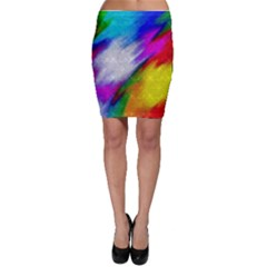 Rainbow colors              Bodycon Skirt