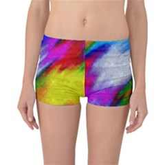 Rainbow colors                  Reversible Boyleg Bikini Bottoms
