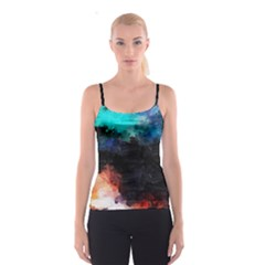 Paint strokes and splashes              Spaghetti Strap Top