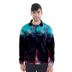 Paint strokes and splashes              Wind Breaker (Men)