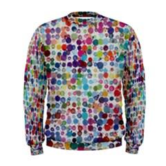 Colorful splatters                Men s Sweatshirt