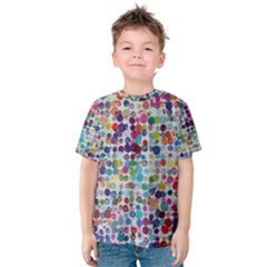 Colorful splatters               Kid s Cotton Tee