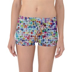 Colorful splatters                   Reversible Boyleg Bikini Bottoms