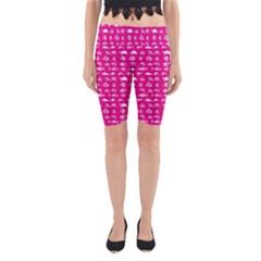 Fish pattern Yoga Cropped Leggings