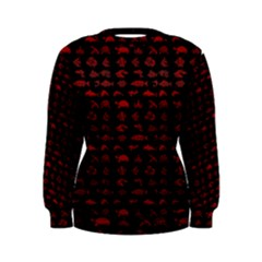 Fish pattern Women s Sweatshirt