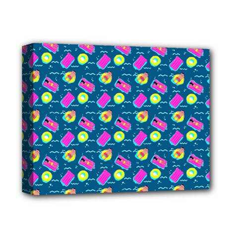 Summer pattern Deluxe Canvas 14  x 11