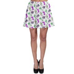 Dinosaurs pattern Skater Skirt