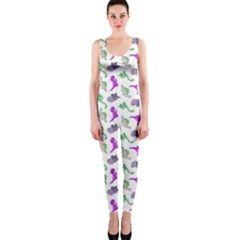 Dinosaurs pattern OnePiece Catsuit