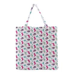 Dinosaurs pattern Grocery Tote Bag