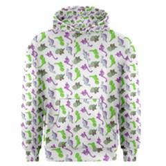Dinosaurs pattern Men s Pullover Hoodie