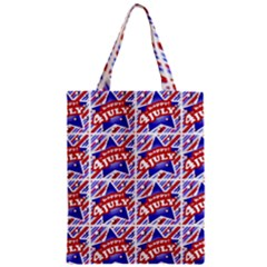 Happy 4th Of July Theme Pattern Classic Tote Bag
