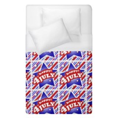 Happy 4th Of July Theme Pattern Duvet Cover (Single Size)