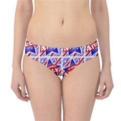 Happy 4th Of July Theme Pattern Hipster Bikini Bottoms