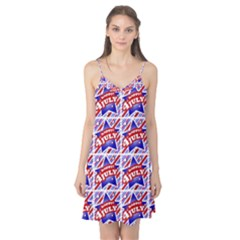 Happy 4th Of July Theme Pattern Camis Nightgown