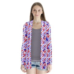 Happy 4th Of July Theme Pattern Cardigans