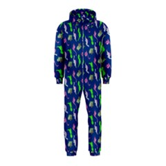 Dinosaurs pattern Hooded Jumpsuit (Kids)
