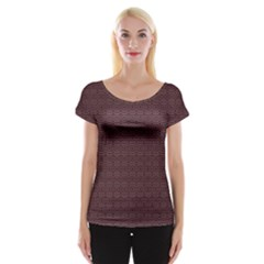 Pattern Women s Cap Sleeve Top