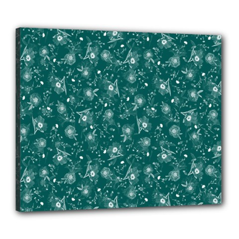 Floral pattern Canvas 24  x 20