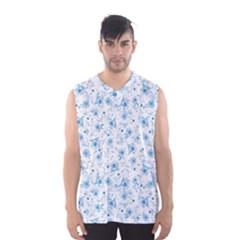Floral pattern Men s Basketball Tank Top