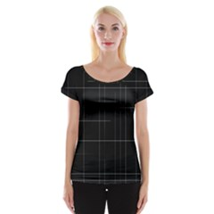 Constant Disappearance Lines Hints Existence Larger Stricter System Exists Through Constant Renewal Women s Cap Sleeve Top