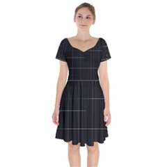 Constant Disappearance Lines Hints Existence Larger Stricter System Exists Through Constant Renewal Short Sleeve Bardot Dress