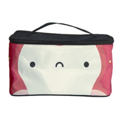 Sad Tooth Pink Cosmetic Storage Case