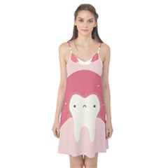 Sad Tooth Pink Camis Nightgown