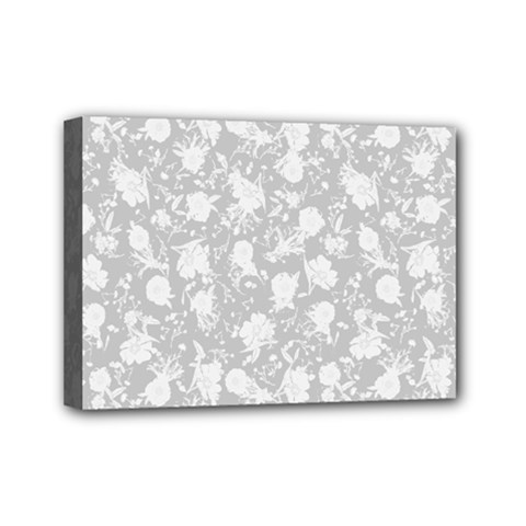 Floral pattern Mini Canvas 7  x 5