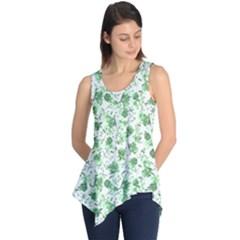 Floral pattern Sleeveless Tunic