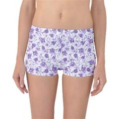 Floral pattern Boyleg Bikini Bottoms