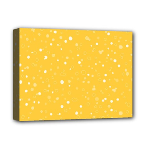 Dots pattern Deluxe Canvas 16  x 12