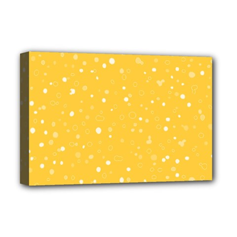 Dots pattern Deluxe Canvas 18  x 12
