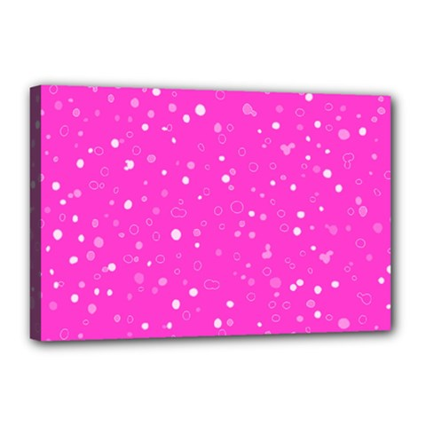 Dots pattern Canvas 18  x 12
