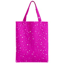 Dots pattern Zipper Classic Tote Bag