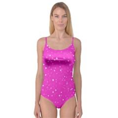 Dots pattern Camisole Leotard