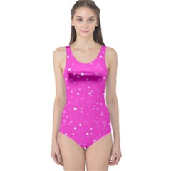 Dots pattern One Piece Swimsuit