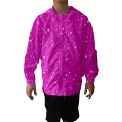 Dots Pattern Hooded Wind Breaker (kids)